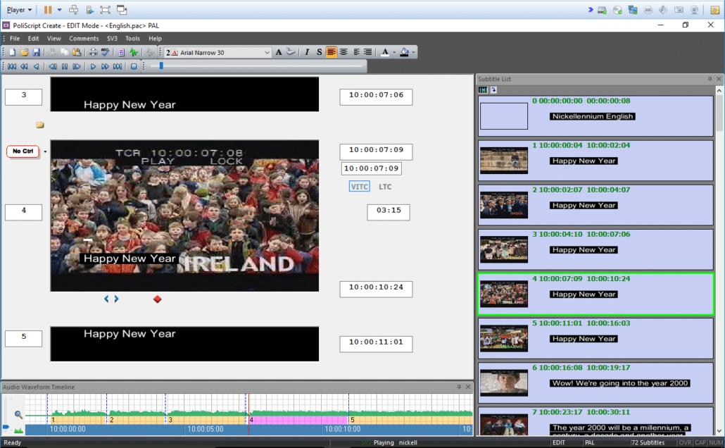 Poliscript Create Screenshot